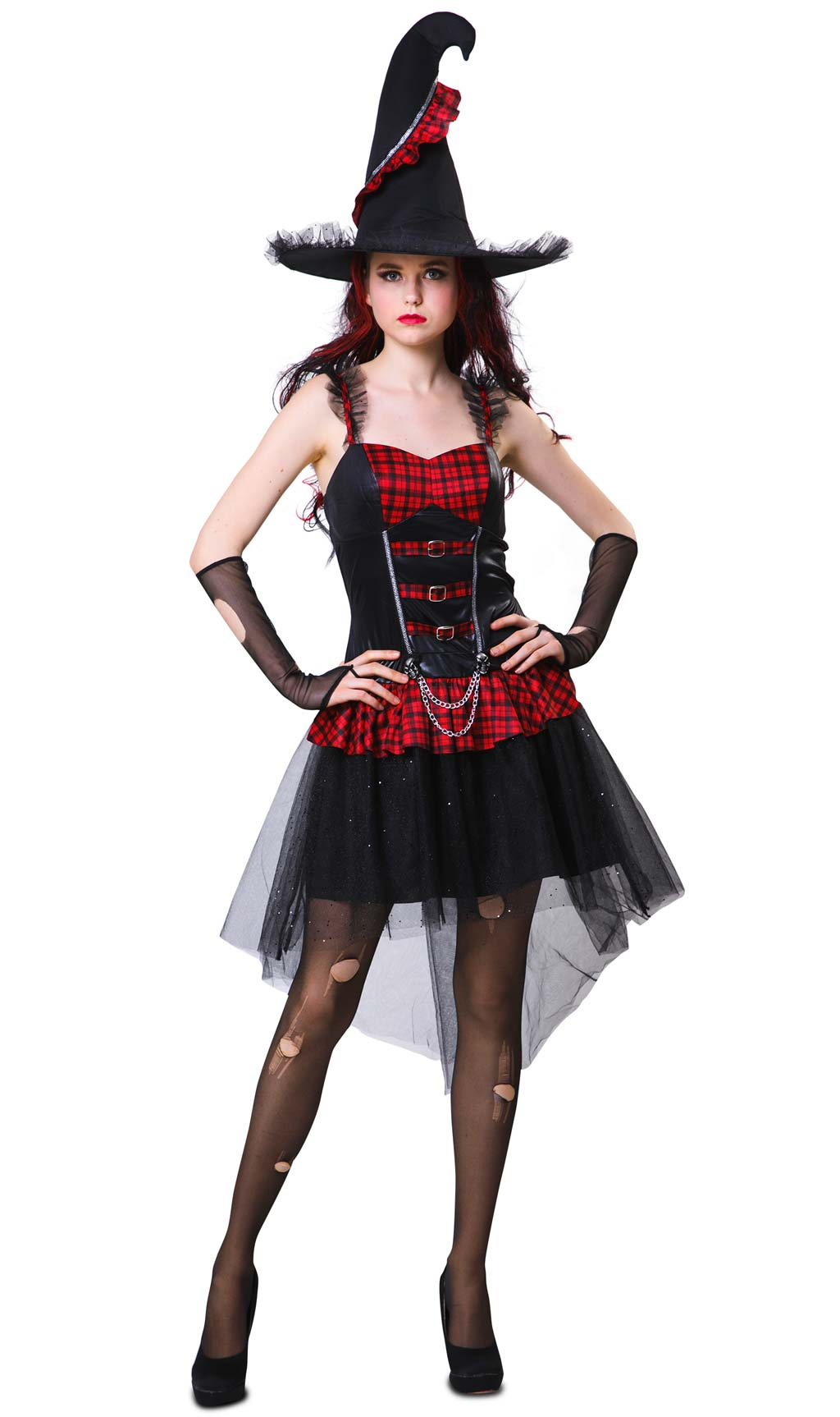 Costume Da Strega Punk Per Adulta